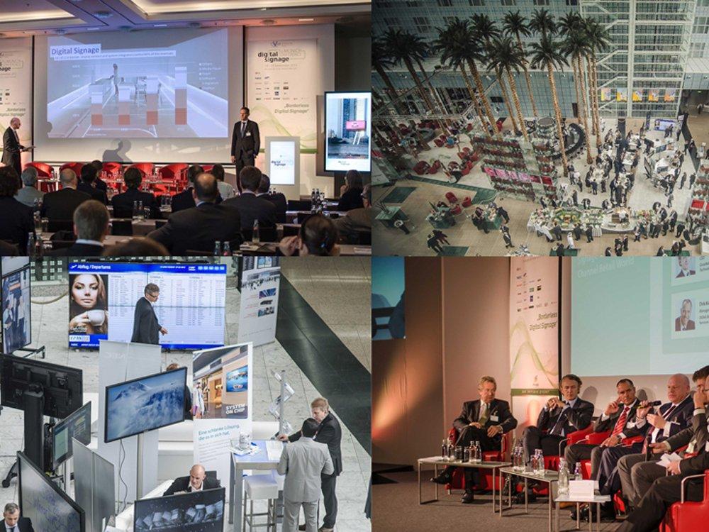 Integrated Systems Events und invidis consulting - zwei starke Partner veranstalten OVAB DIgital Signage Summit Europe 2015 (Bilder: invidis)