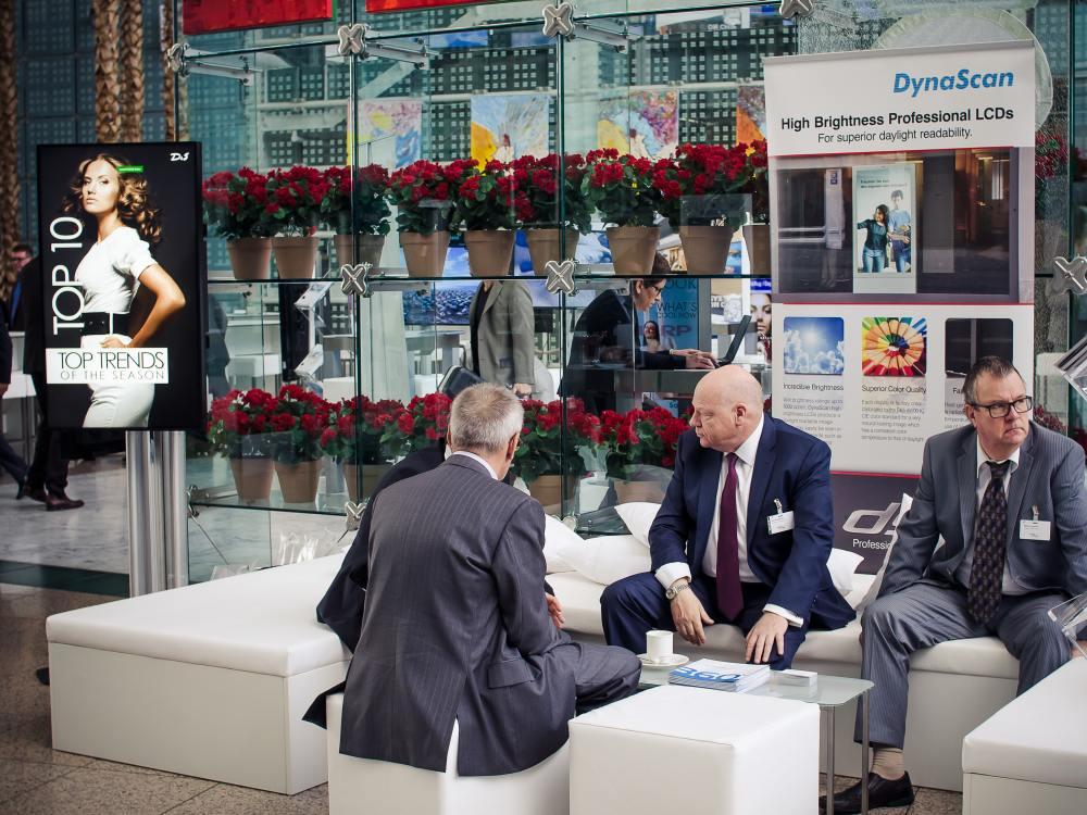Dynascan-Stand im Jahr 2013 auf der OVAB-Konferen in Münchenz (Foto: invidis)