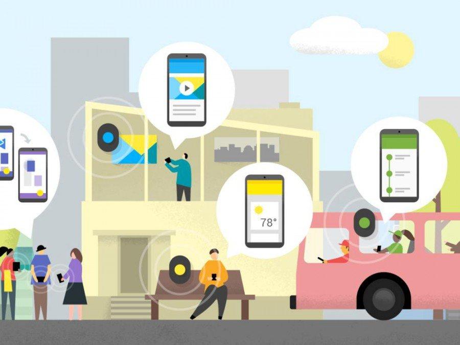 Eddystone ist Googles eigene Beacon-Plattform (Grafik: Google)