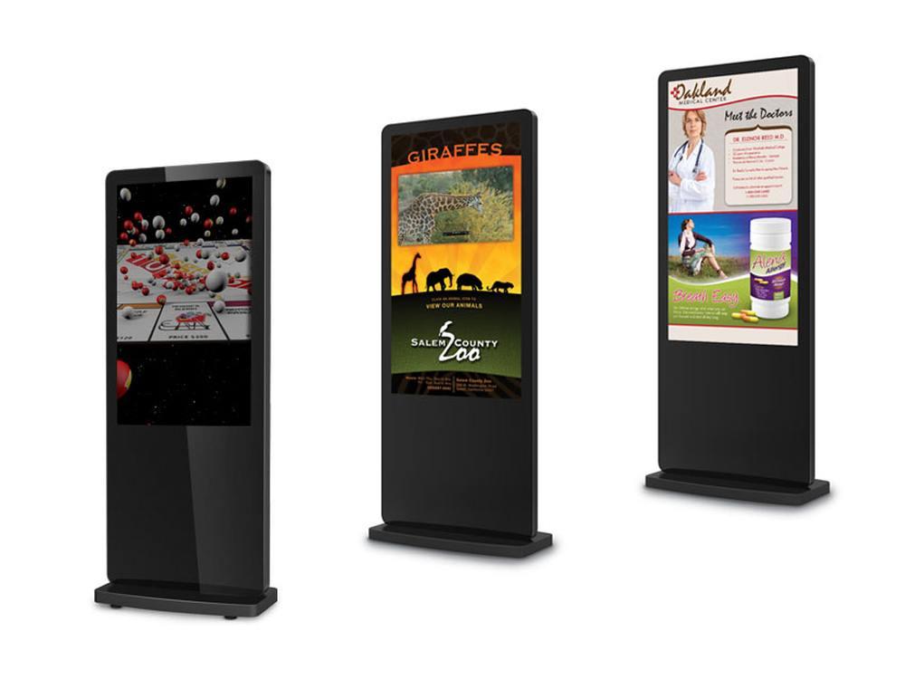Kiosk-Systeme von Avnu Digital (Fotos: Avnu Digital; Montage: invidis)