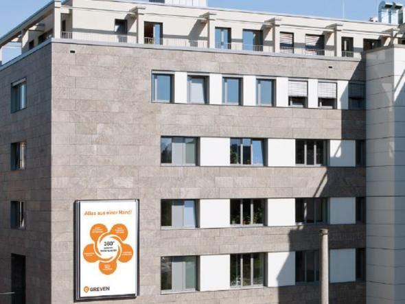 LED Medienwand bei Greven in Köln (Foto: Dimedis)