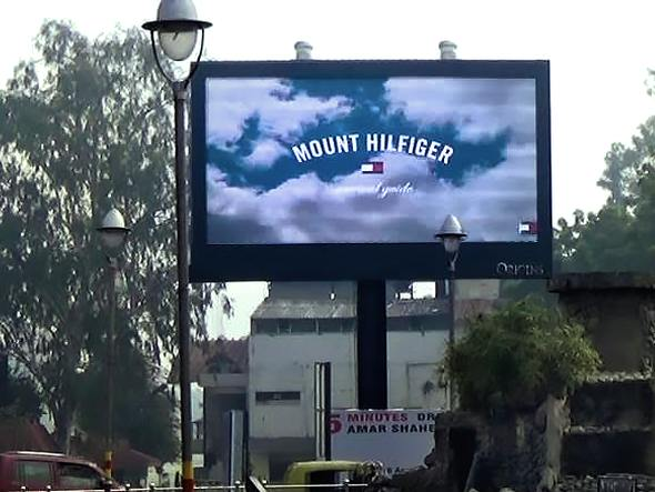 LED Screen von Origins Advertising in Indien (Foto: Broadsign)