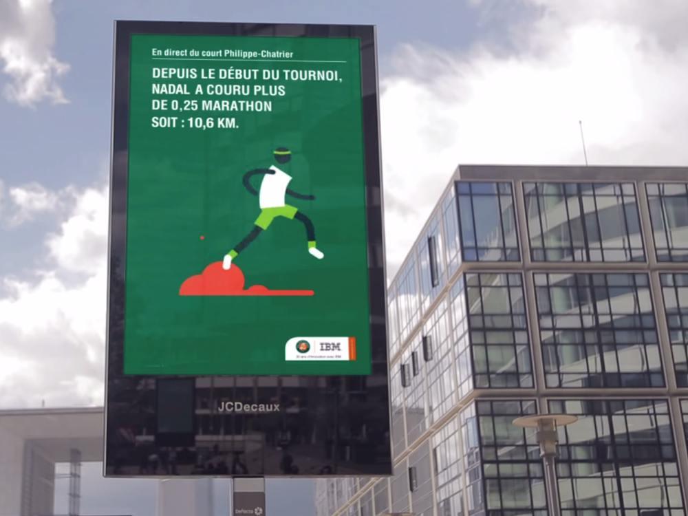 """""""Nadal lief bis jetzt 1/4 Marathon"""" (Screenshot: invidis)"""
