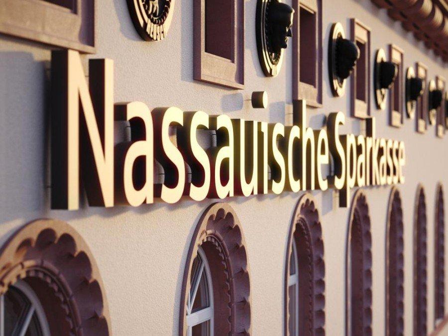 Nassauische Sparkasse - Stammhaus der Bank (Foto: Naspa)
