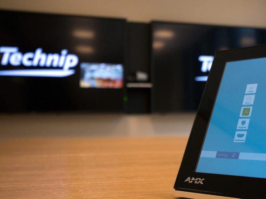 Neue Technip Norway-Zentrale - Steuerung von AMX (Foto: Display Systems AS)