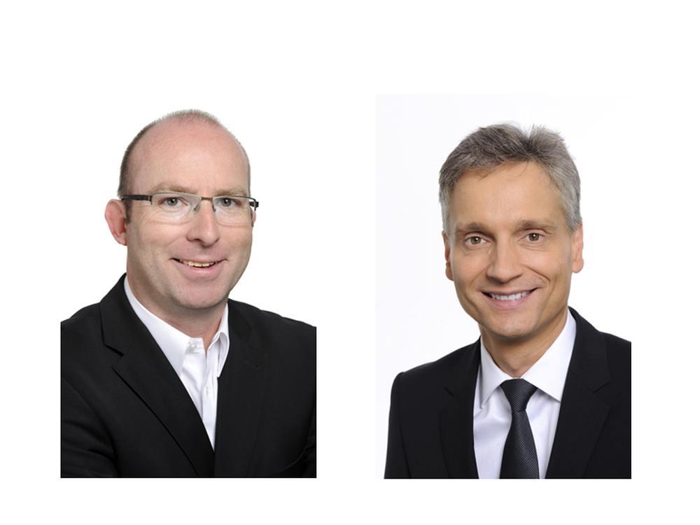 Oliver Kaiser und Marc Müller (Fotos: Tech Data)