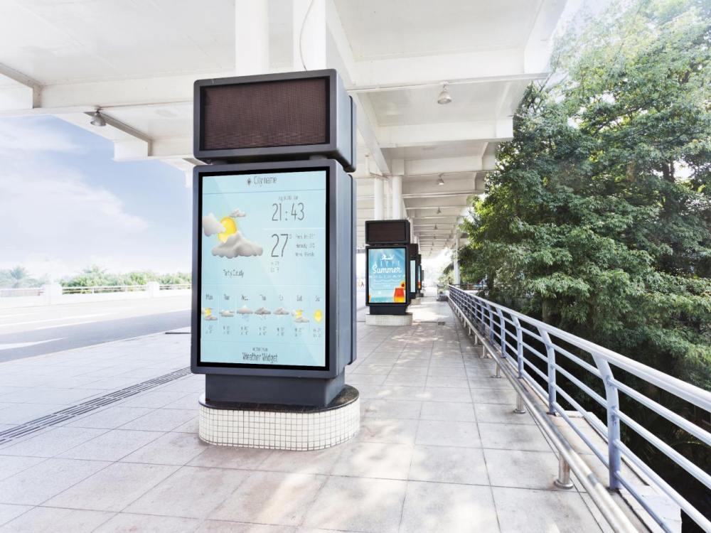Outdoor Screens von Acer - Hersteller startet mit Serie DV in DACH (Foto: Acer)