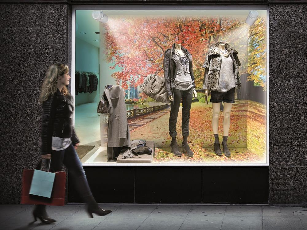 Retail Szenario mit zwei Space Playern (Foto: Panasonic)