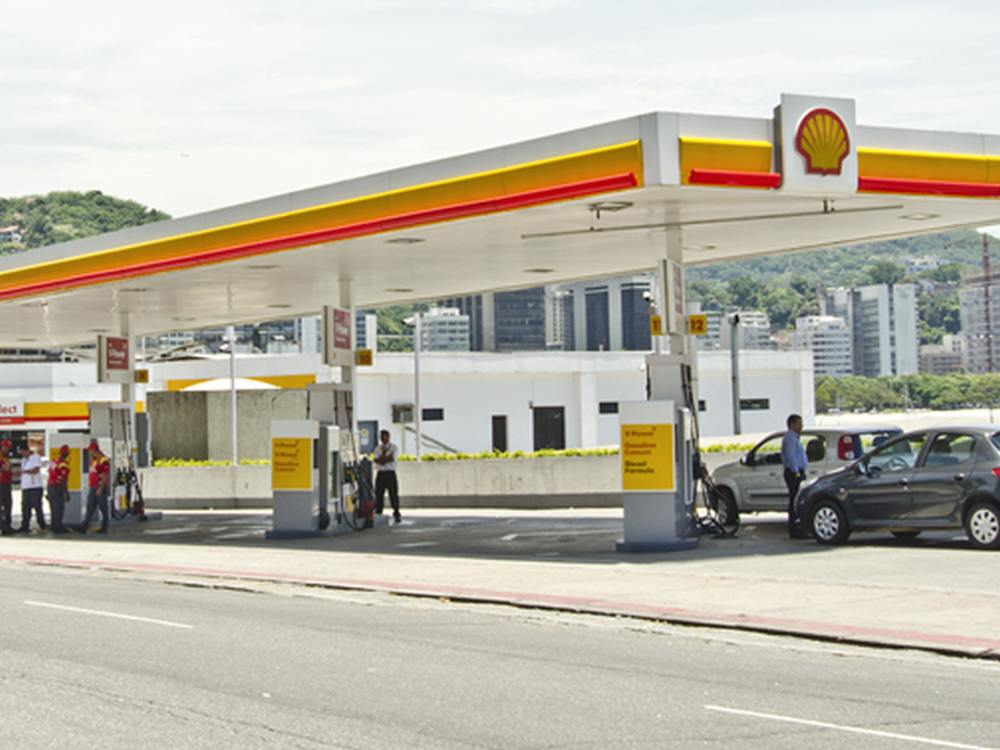 Shell-Tankstelle von Raízen in Brasilien (Foto: Raízen)