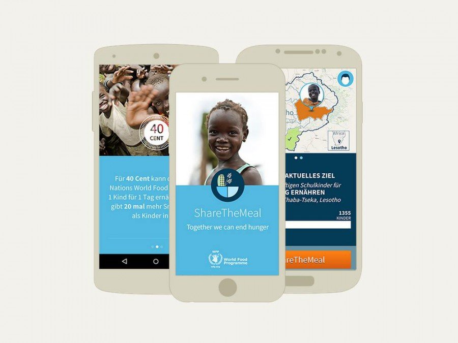 Spenden-App ShareTheMeal (Screenshot: iinvidis)