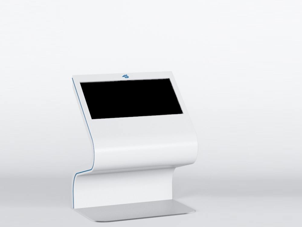 Barrierefrei: Standard Kiosk SI46 (Foto: Kiosk Solutions)