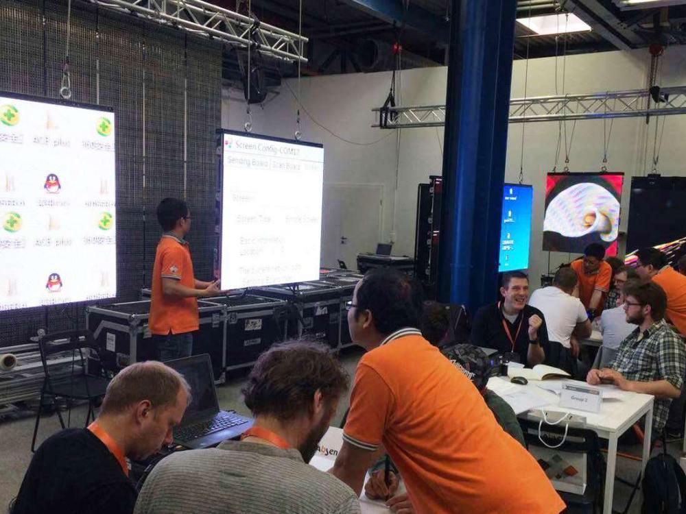 Teilnehmer eines ACE+ Workshops von Absen (Foto: Absen)