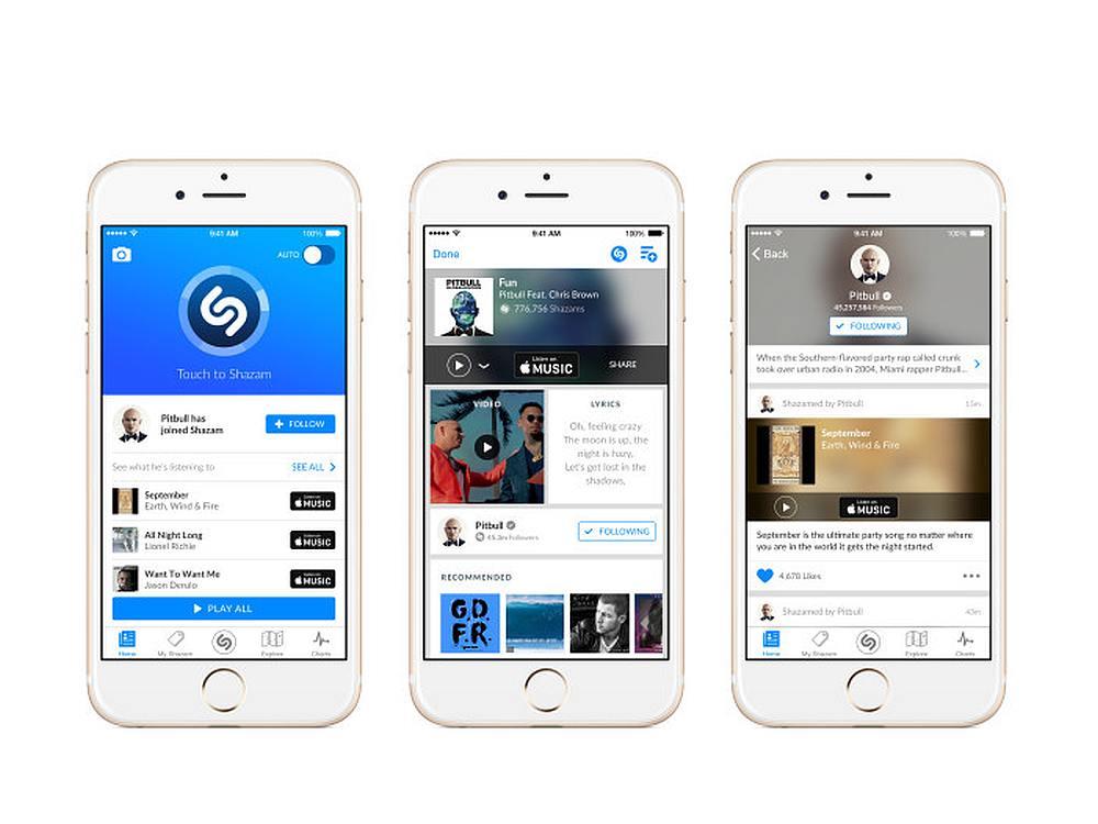 iPhones mit Shazam App (Foto: Shazam)