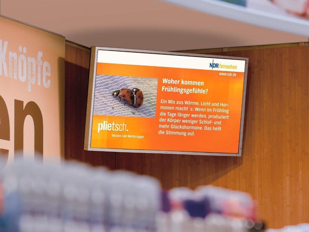 Kooperation von NDR und DooH (Foto: Neo Advertising)