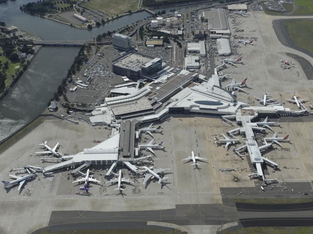 Aus der Vogelperspektive - Sydneys Flughafen (Foto: Sydney Airport Corporation )