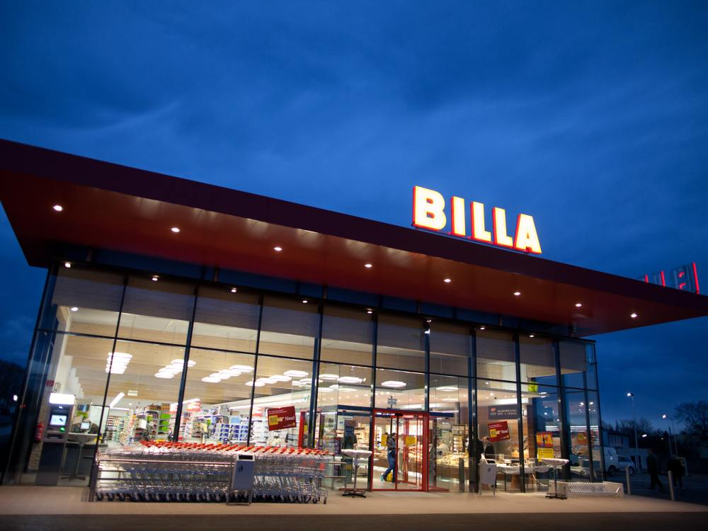 Billa-Markt in Deutsch Wagram (Foto: Rewe International AG)
