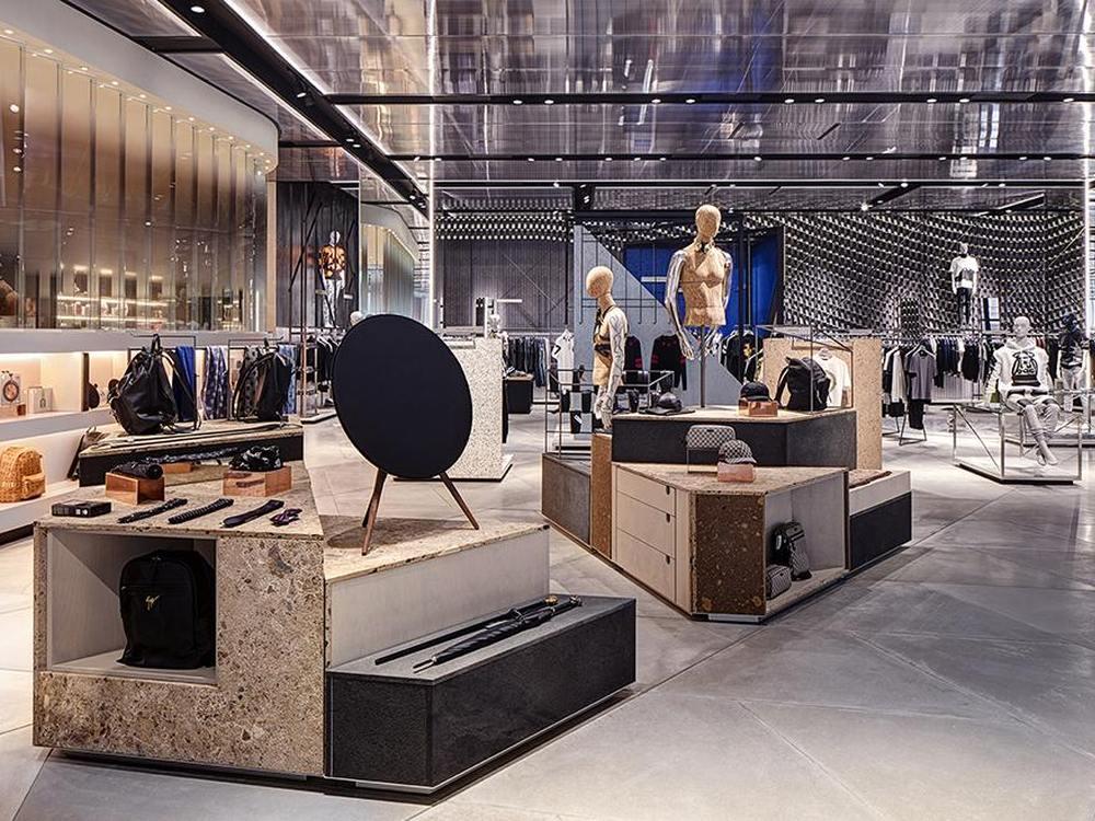 Blick in den Concept Store von Harvey Nichols (Foto: Virgile + Partners)