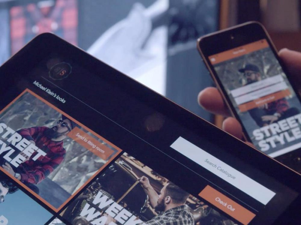 Der Razorshop setzt auf Multiscreen (Screenshot: invidis)