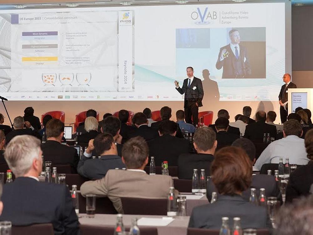 Florian Rotberg auf der Konferenz 2014 (Foto: invidis)