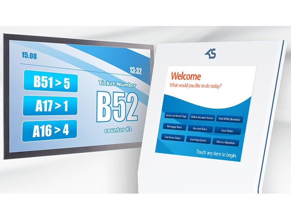 Warteschlangen-Management-System von Kiosk Solutions (Bild: Kiosk Solutions)