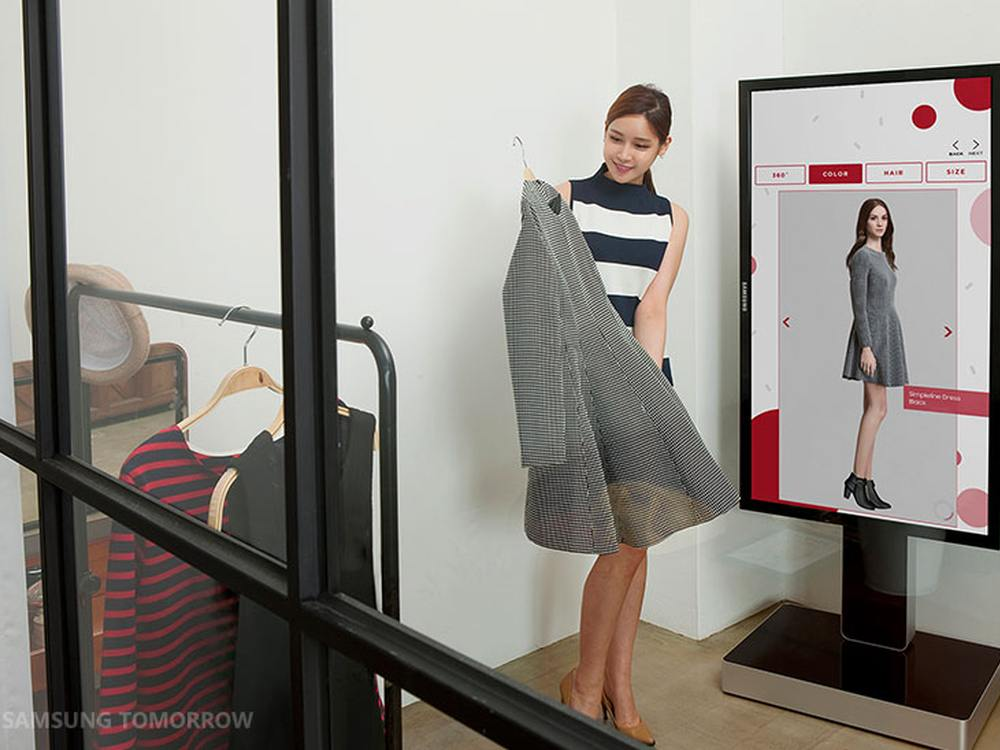 Mirror Screen von Samsung (Foto: Samsung Tomorrow)