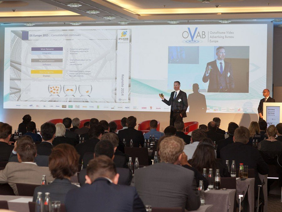nvidis keynote on last year´s OVAB conference (Image: Anna Olivia Weimer)
