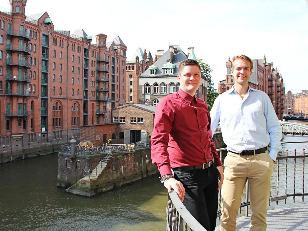 Rico Alexander (l) und Tom Harder verstärken das Team Foto: komma,tec redaction)