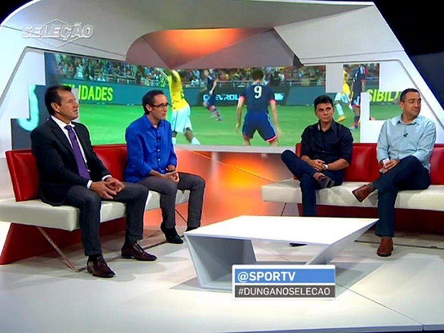Sportsendung bei Globo - LED Wall im Hintergrund (Foto: Leyard)