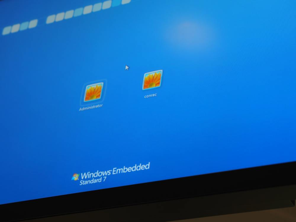 Startbildschirm auf einem Digital Signage Screen an einem italienischen Airport - Symbolbild (Foto: invidis)