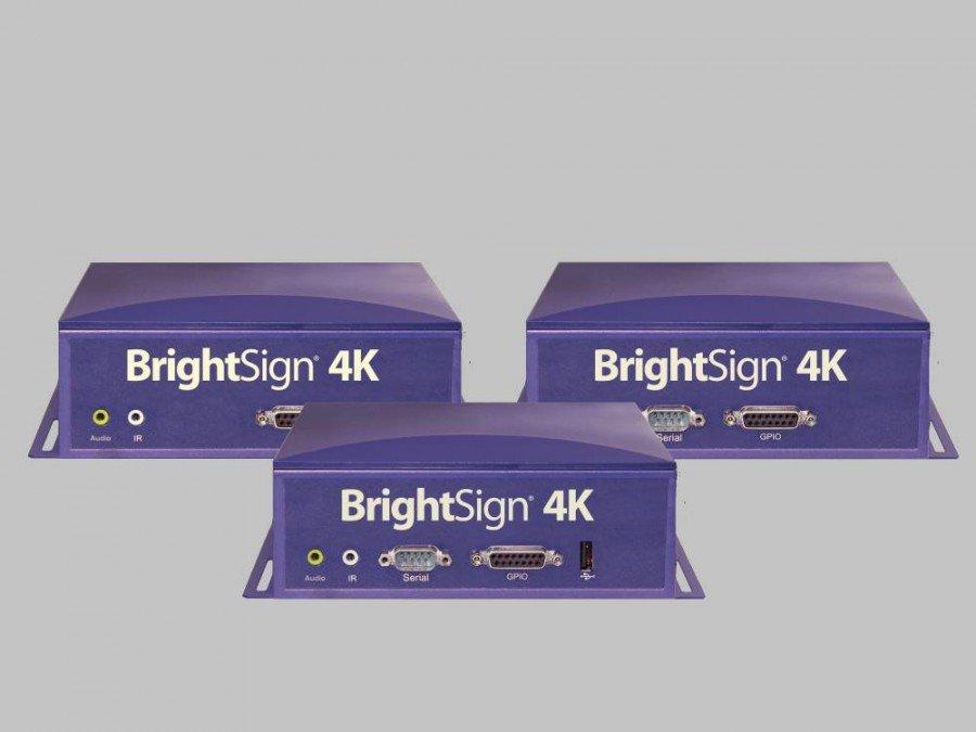 Verschiedene BrightSign 4K Mediaplayer (Foto: BrightSign)