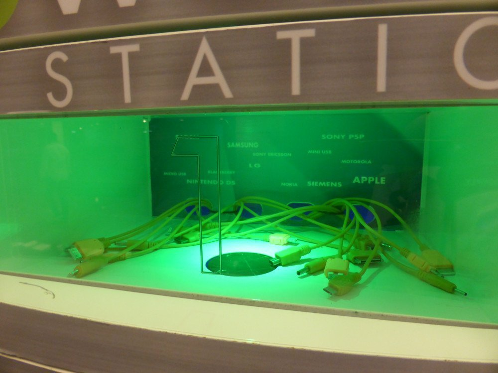 Charging Station at Dubai Mall (Photo: invidis)