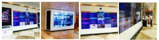 Dubai DWTC Video Walls - click for gallery