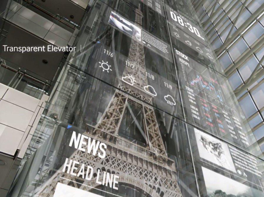 Samsung Display Centric World (Screenshot)
