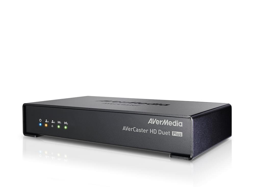Der AVerCaster HD Duet Plus F239+ kann Mediainhalte encoden und distribuieren (Foto: AVerMedia)