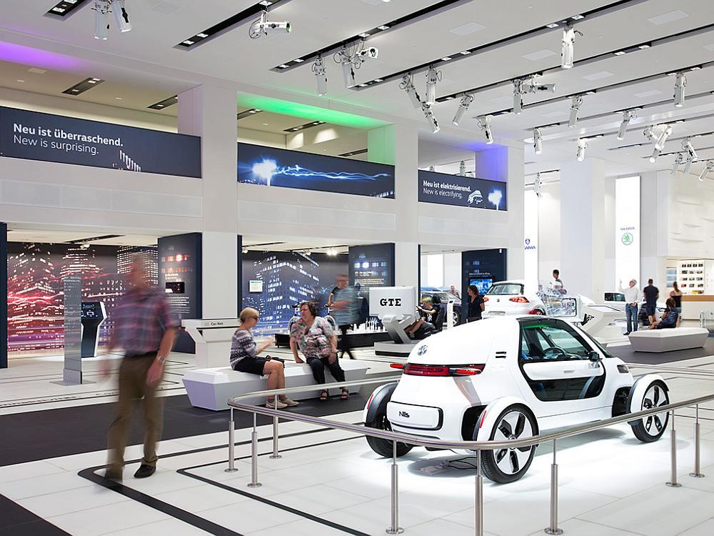 Beim Lighting wird konsequent auf LED gesetzt (Foto: Volkswagen)