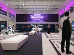 Blick auf die große LED Wall (Foto: Volkswagen)