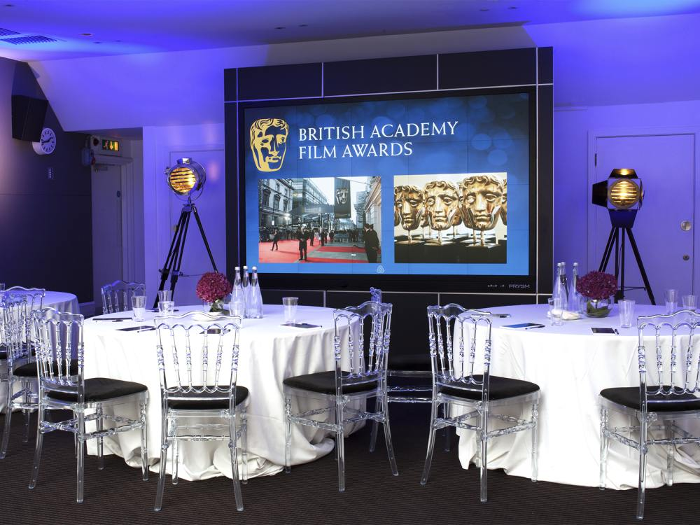 Cascade 117 Video Wall bei der BAFTA (Foto: Prysm)