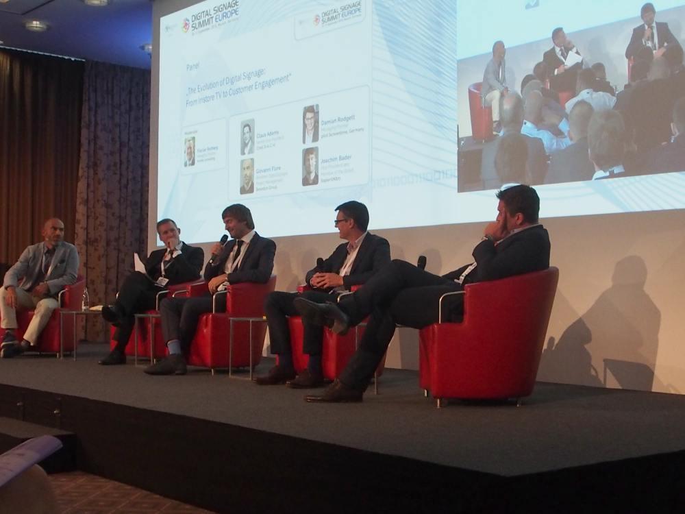 Das Agentur-Panel während der Diskussion (Foto: invidis)