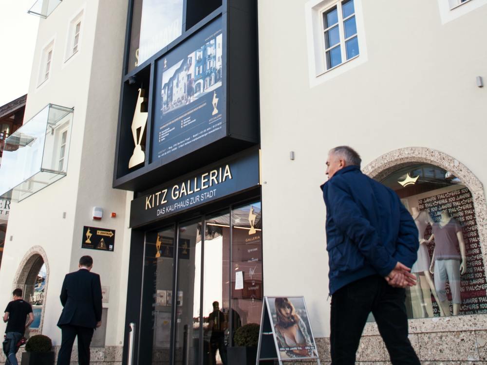 Österreich  Neue Kitz Galleria setzt auf Digital Signage   invidis 8f30eace82