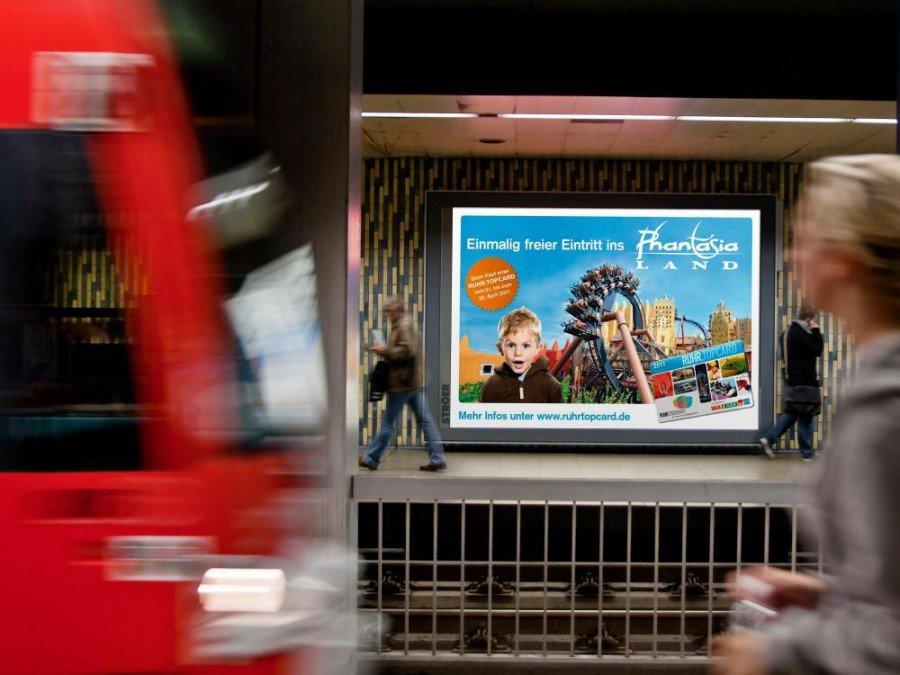 Gehört zum Ströer-Portfolio - Megalight in Köln (Foto: Ströer)