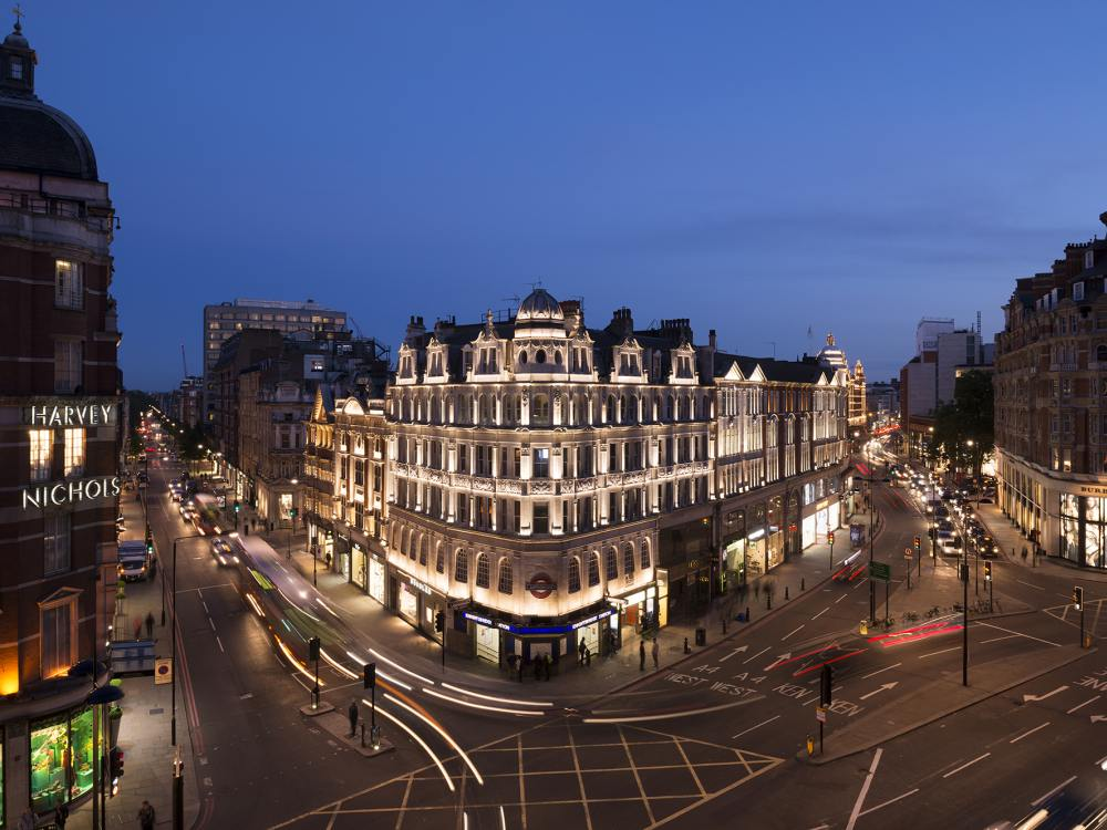 Knightsbridge Estate in London - das LED Lighting stammt von acdc (Foto: acdc)
