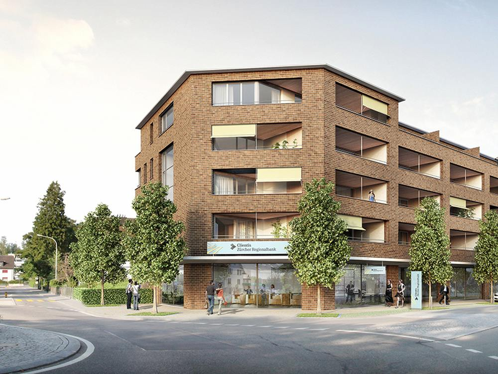 Neue Filiale der Clientis Zürcher Regionalbank in Uster (Foto: Clientis Zürcher Regionalbank)