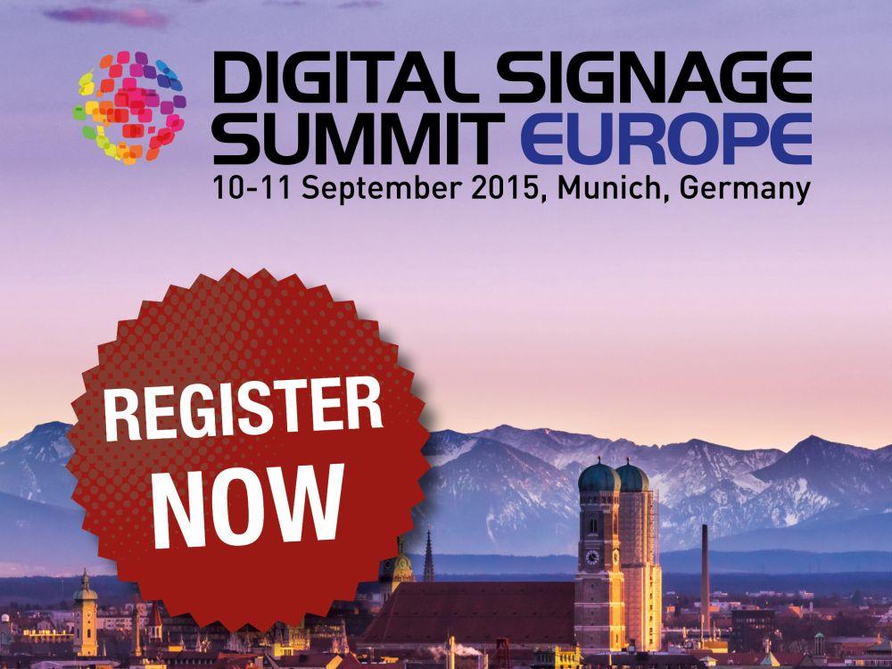 Register now for OVAB Digital Signage Summit Europe 2015 (Bild: invidis)