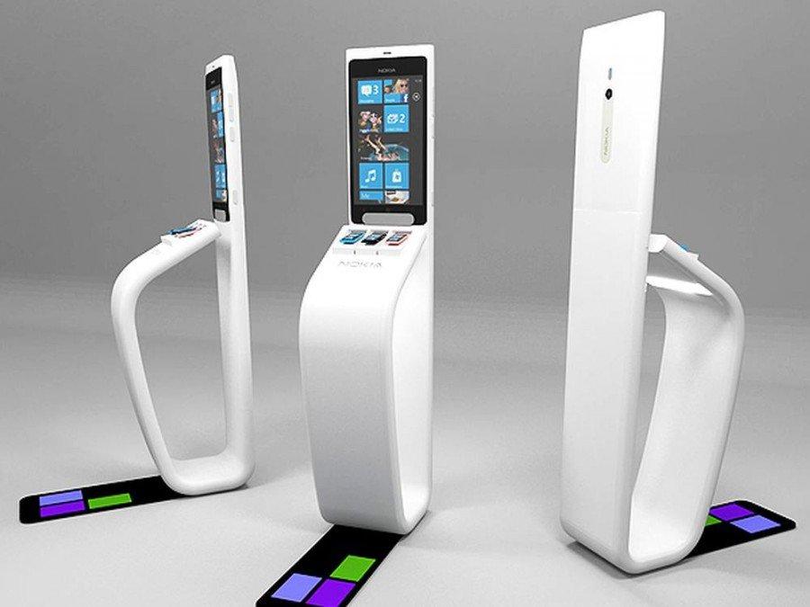 PoliFX Eye Totem - hier drei Varianten für den Werbungtreibenden Nokia (Foto: SR LABS)