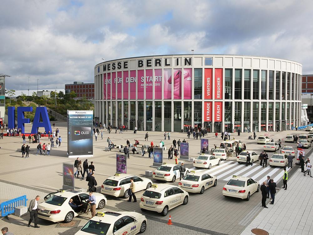 Südeingang der Messe Berlin während der IFA 2015 (Foto: Messe Berlin)