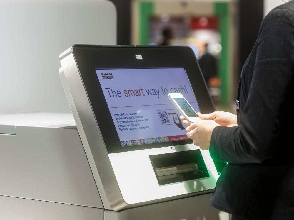 Smart ATM von Wincor Nixdorf - für den indischen Markt werden spezielle Modelle entwickelt (Foto: Wincor Nixdorf)