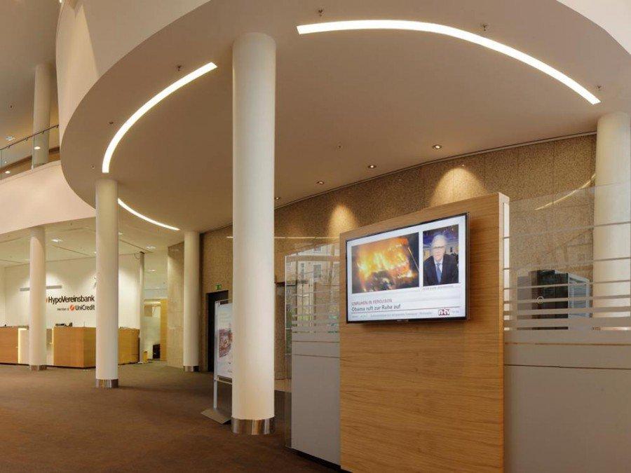 UniCredit Gruppe - im Innern einer HVB Filiale (Foto: HVB)