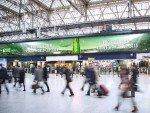 Rugby World Cup 2015 - Heineken DooH Kampagne in Waterloo Station (Foto: JCDecaux)