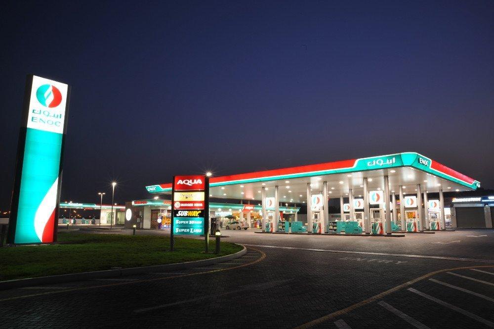 Enoc Petrol Station (Photo: Enocretail)