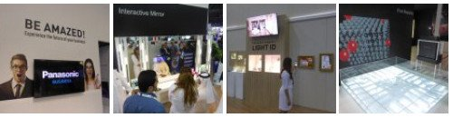 Panasonic Digital Signage and Retail Solutions at Gitex 2015 - Click here for Photo Gallery